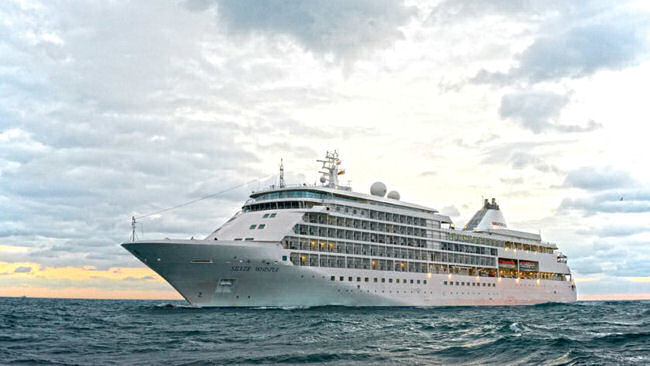 Silversea's Silver Whisper Embarks on World Cruise 2018