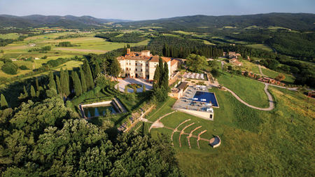Tuscany's Castello di Casole Offers Over-The-Top Romance Packages