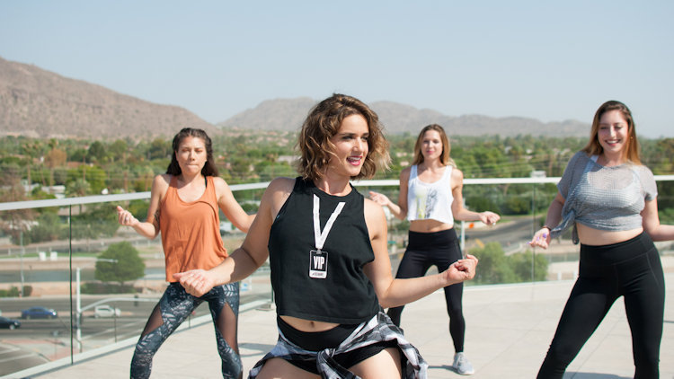 Get Fit with Rooftop Yoga and Dance at Hotel Valley Ho