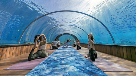 Wellness Through Water at Hurawalhi Island Resort, Maldives