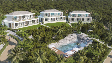 Turks and Caicos Gets its First Cliffside Residential Resort