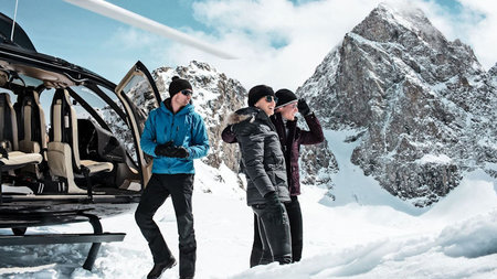 Carlton Hotel St. Moritz Launches Exclusive Helicopter Experience
