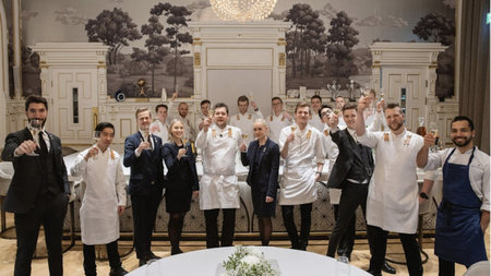 Hotel Britannia's Speilsalen Restaurant Named Norway's 2020 Restaurant of the Year