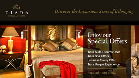 Tiara Hotels & Resorts Offers Suite Dreams Travel Packages