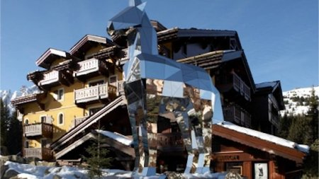 Cheval Blanc Courchevel Gets into the Skiing Spirit