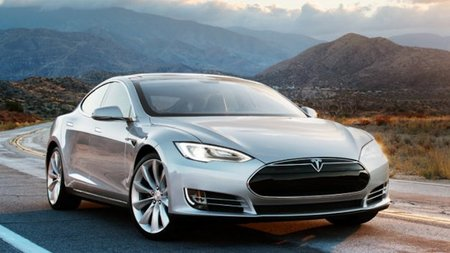Drive The New Tesla Model S In The Swiss Alps