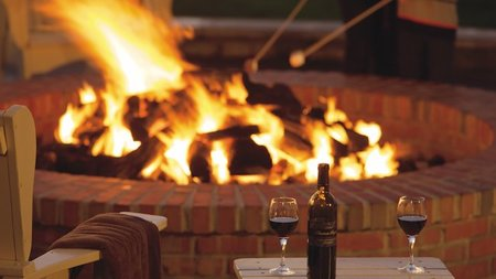 Fire and Wine Along the Northern California Coast