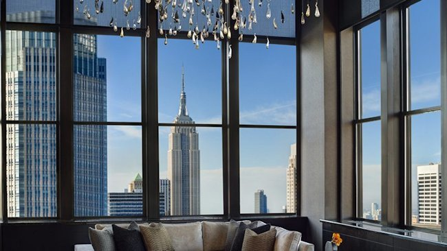 Pop Open the Bubbly in the New York Palace's Champagne Suite