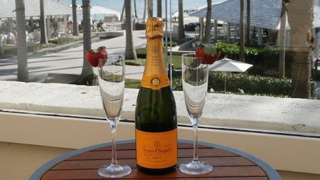 Celebrate in Style in a 'Suite with a Veuve' at Waldorf Astoria's Casa Marina Resort in Key West