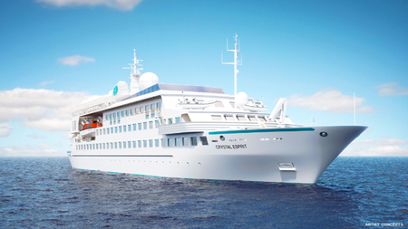 Crystal Cruises Expanding Beyond Ocean to Expedition, River, Yacht and Air