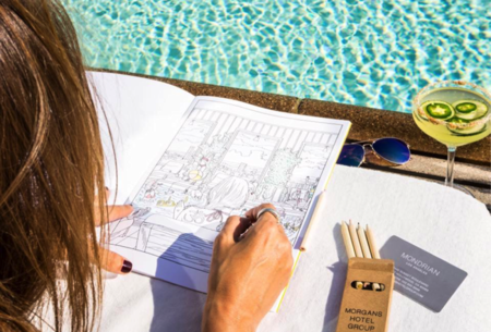 Adult Coloring Books, A Trending Travel Accessory this Summer