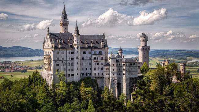 Driving the Castle Routes of SouthWest Germany