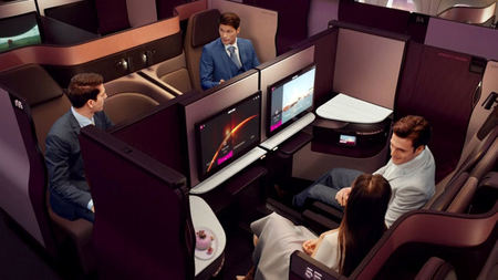 Qatar Airways' Award-Winning Qsuite to Take Flight in the U.S.