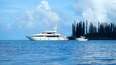 MASTEKA II offers Superyacht Charters in New Caledonia with French Flair