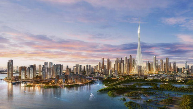 Dubai Creek Tower to Surpass Burj Khalifa in 2020