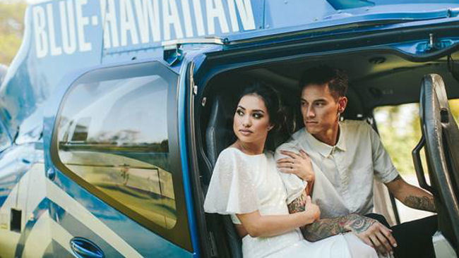 Blue Hawaiian Helicopters Launches Love Takes Flight Romance Package