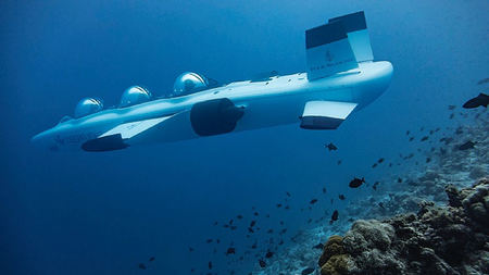 Four Seasons Maldives Has A 3-Man Sub
