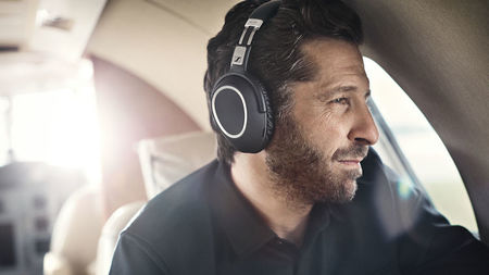 Upgrade to First Class with Sennheiser Wireless Travel Headphones