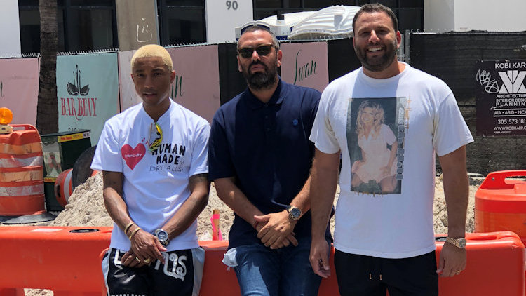 Pharrell Partners with Chef Jean Imbert and David Grutman to Open Miami Restaurant