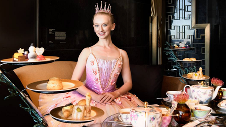 Nutcracker Tea at the Waldorf Astoria Las Vegas