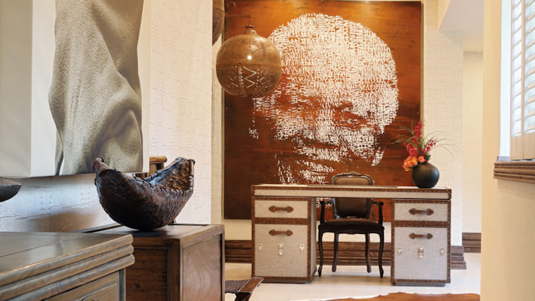 The Saxon Unveils Renovated Nelson Mandela Platinum Suite