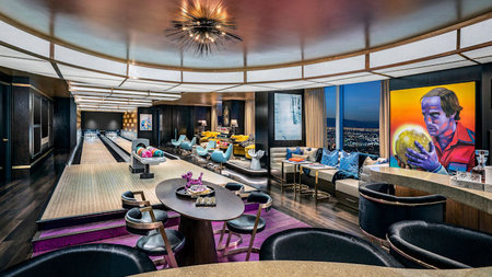 Palms Casino Resort Unveils NEW Basketball & Bowling Suites