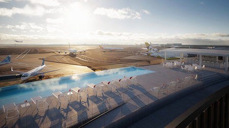 TWA Hotel's Stunning Rooftop Infinity Pool Opens May 15