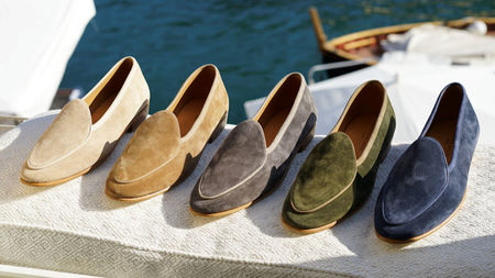 Elegant Summer Loafers from Baudoin & Lange