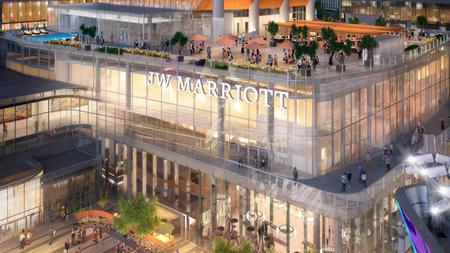 JW Marriott Debuts in the Heart of Edmonton