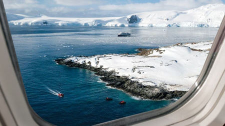 Silversea Flies Guests Directly to Antarctica in Business-Class Comfort