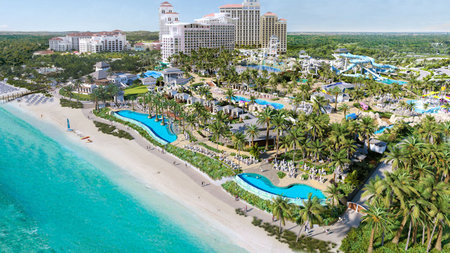 Baha Mar Unveils Luxury Beachfront Waterpark, Baha Bay to Open in July