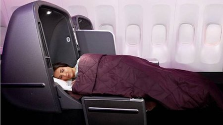 Qantas Airways Business Class Customers to Get Better Night's Sleep