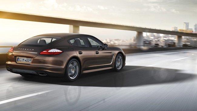 Porsche Launches Panamera Platinum Edition A Special Sport Sedan
