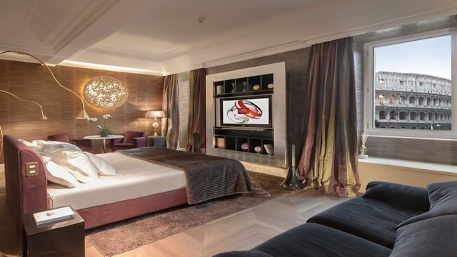 Palazzo Manfredi Hotel in Rome Unveils New Suite
