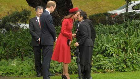 Royal Welcome in Wellington, New Zealand