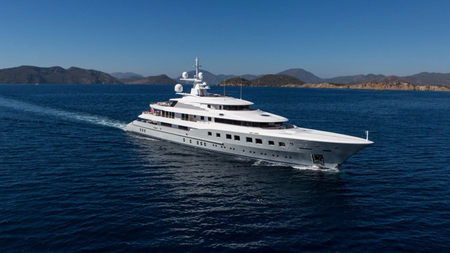 Axioma: Charter the Superyacht that's the Last Word in Luxury