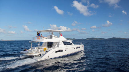 The Moorings Debuts New Crewed Power Yacht in the British Virgin Islands