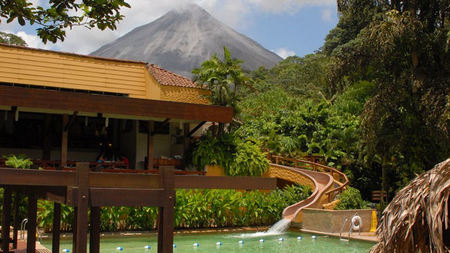 The Volcano Above, the Mineral Waters Below: Tabacon Grand Spa Thermal Resort in Costa Rica