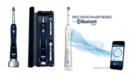Oral-B PRO 5000 SmartSeries Electric Toothbrush with Bluetooth
