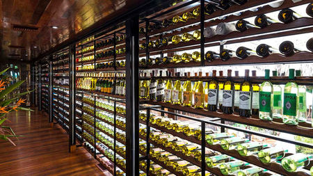 Coppola's Turtle Inn Unveils New Wine Tasting Experience, WINE AQUARIUM