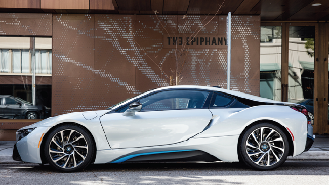 Luxury California Road Trip with a $140,000 BMW i8