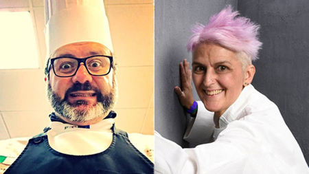 Four-Hands, Starred Dinner in Tuscany with Chefs Cimino and Bowerman
