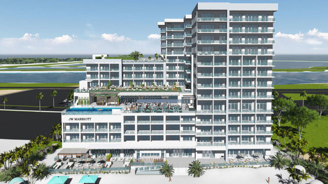 JW Marriott Residences Clearwater Beach Sales Launched