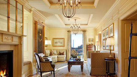 Suites Fit for a President at The Jefferson Hotel in DC