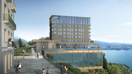 Switzerland's Newest Luxury Hotel to Open August 28