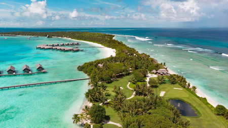 Golfing in Paradise at Shangri-La's Villingili Resort & Spa, Maldives