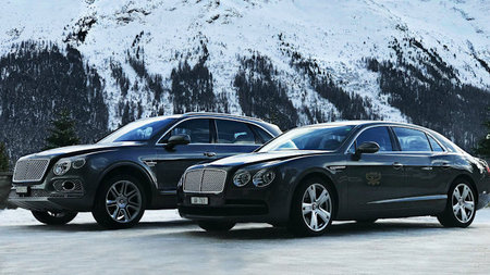 Zoom Through Europe with the Exclusive Bentley Winter Tour