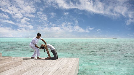 Be the Master of Your Wellbeing Four Seasons Maldives Yoga Therapy Center