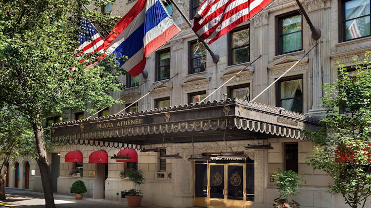 Experience 5 Star Dining at Hotel Plaza Athenee New York