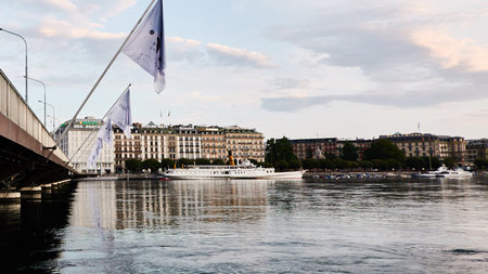 Elegance in the Alps on the Shores of Switzerland's Lake Geneva